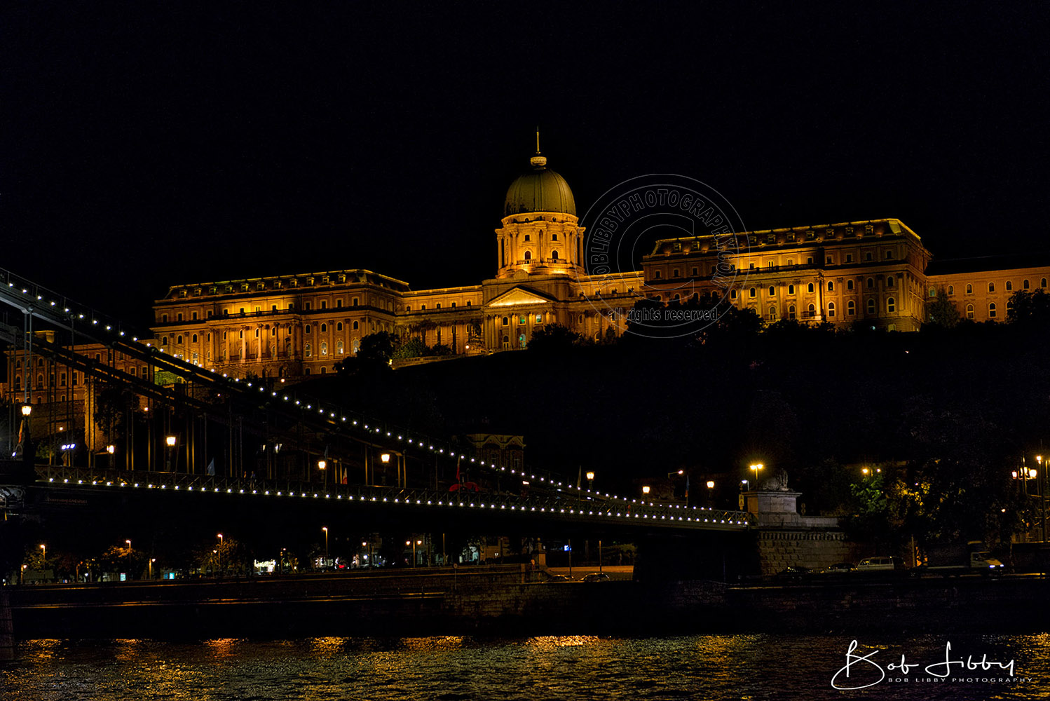 Buda Castle in Budapest, Hungry