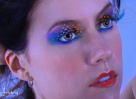 Carley with Eye Makeup