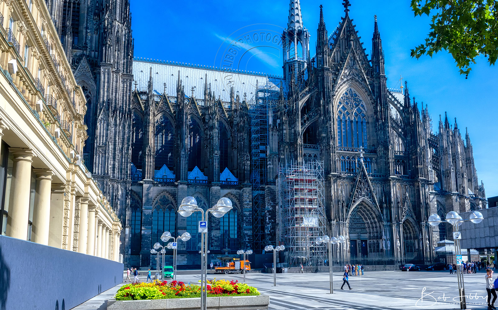 Cologne Cathedral - an industrial and university city in western Germany