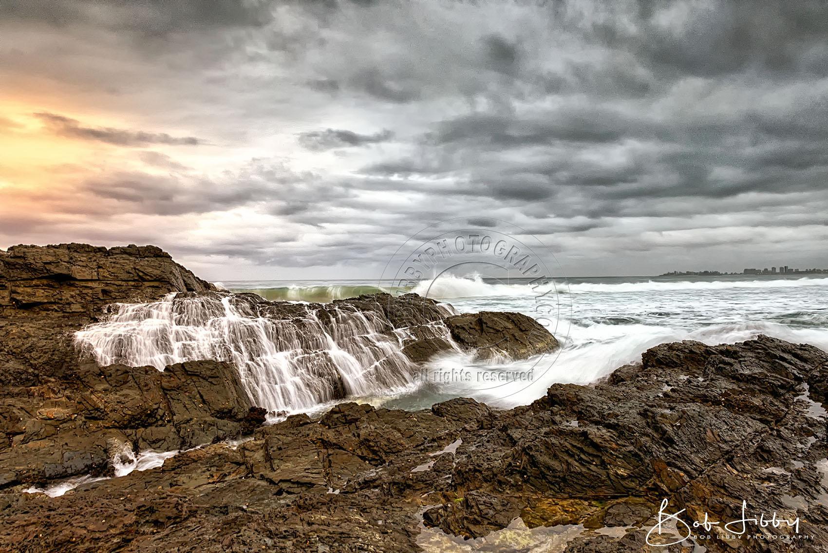 Currumbin Rock Gold Coast Queensland