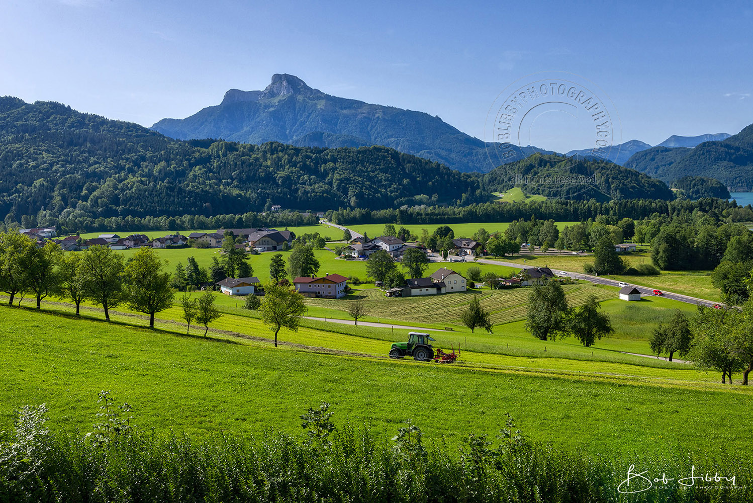 The Mondsee Countryside