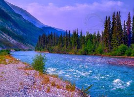 British Columbian River